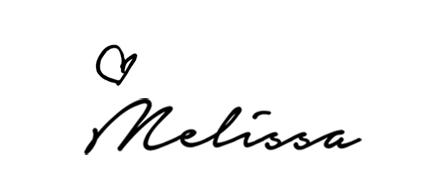 melissa chataigne signature