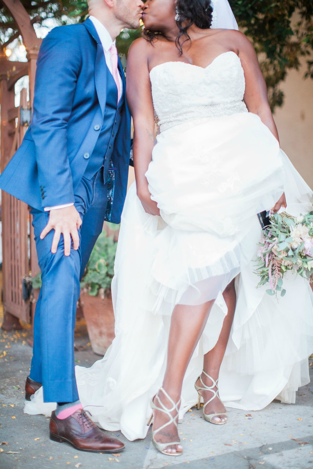 plus-sized wedding gown from casablanca