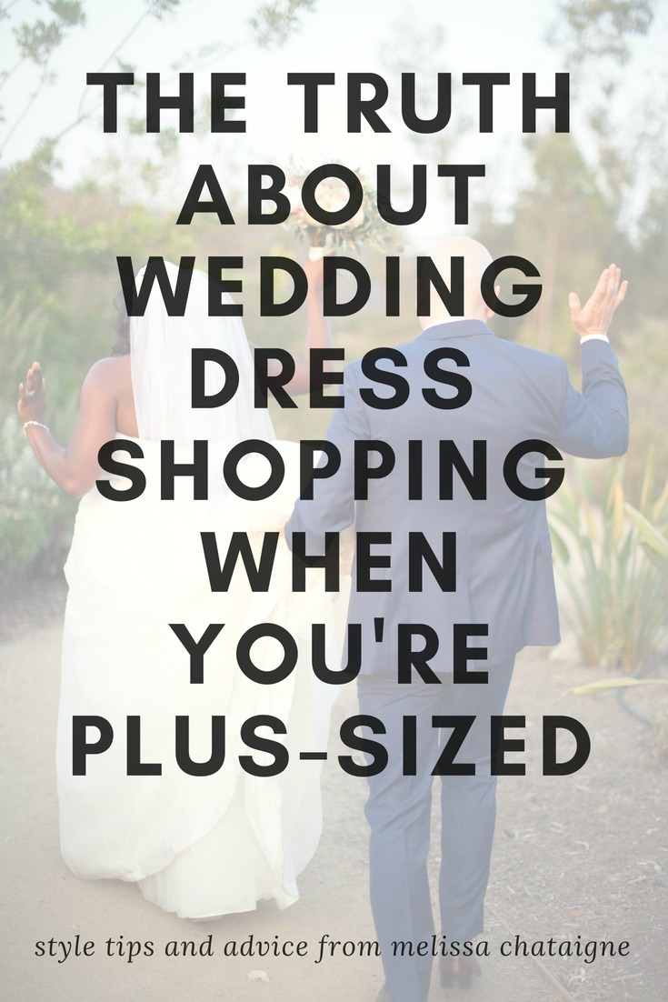 wedding dress shopping when plus-sized