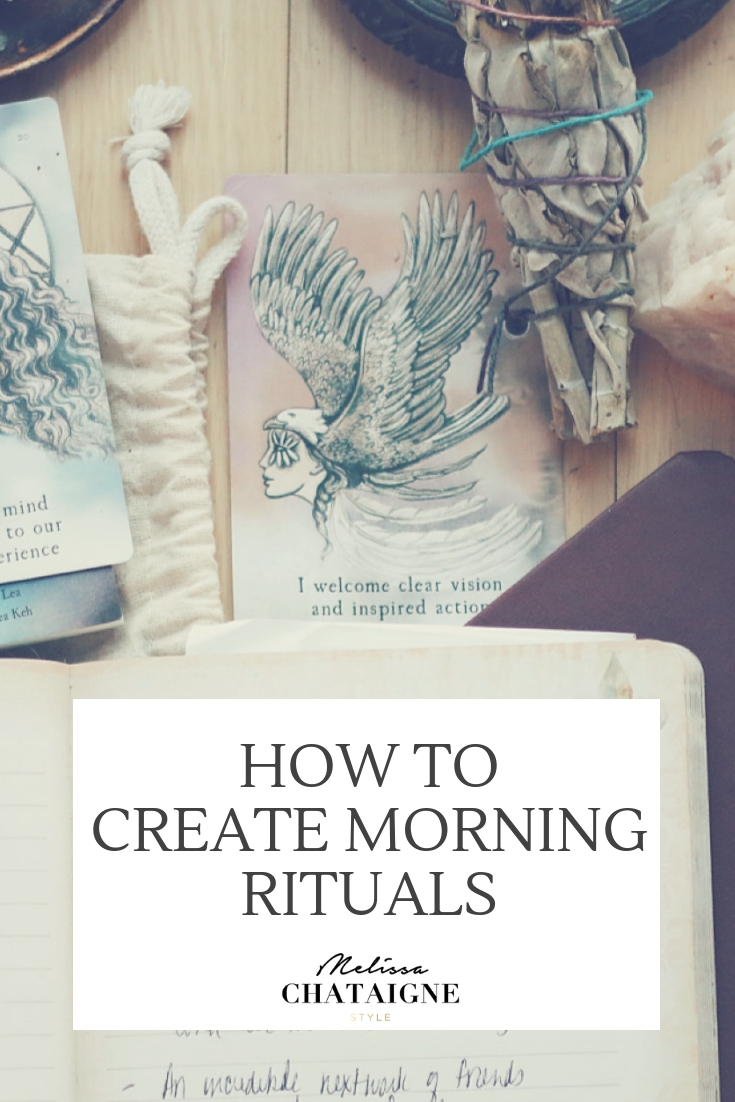 HOW TO CREATE MORNING RITUALS