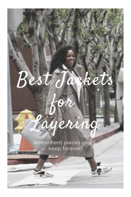 best jacket for layering outfits