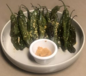 roasted shishito pepper