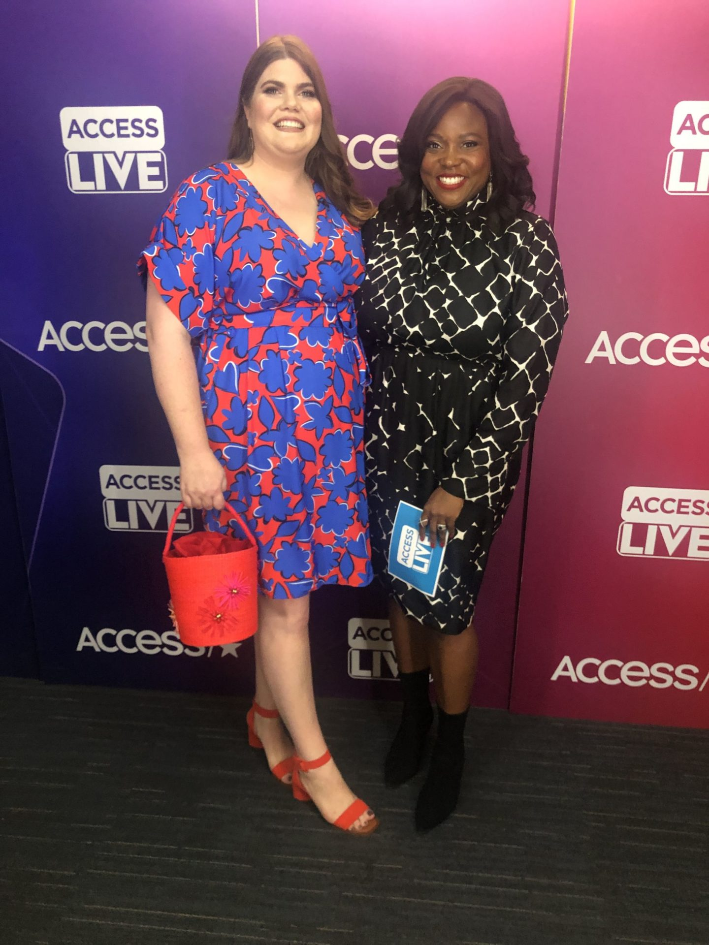 PLUS SIZE MOM MAKEOVER ON ACCESS LIVE!