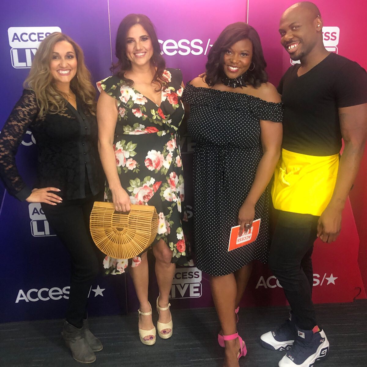 access live teach makeover glam squad