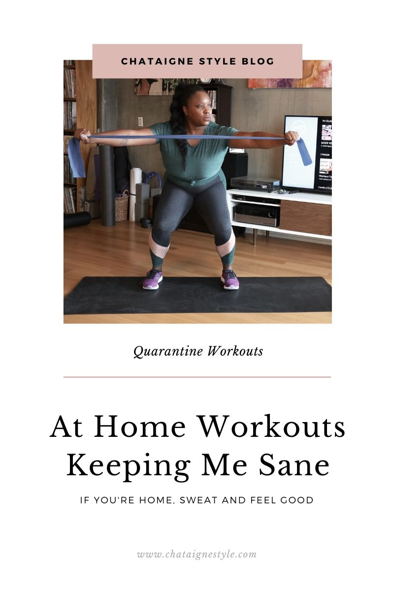 at home workouts by melissa chataigne